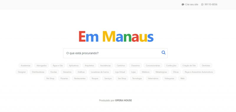 Site Em Manaus
